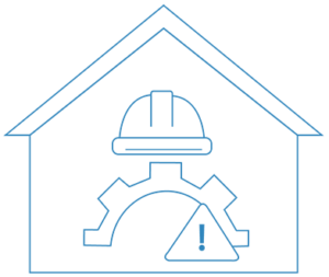 Construction helmet to be used in house building Sydney | Contracts Specialist