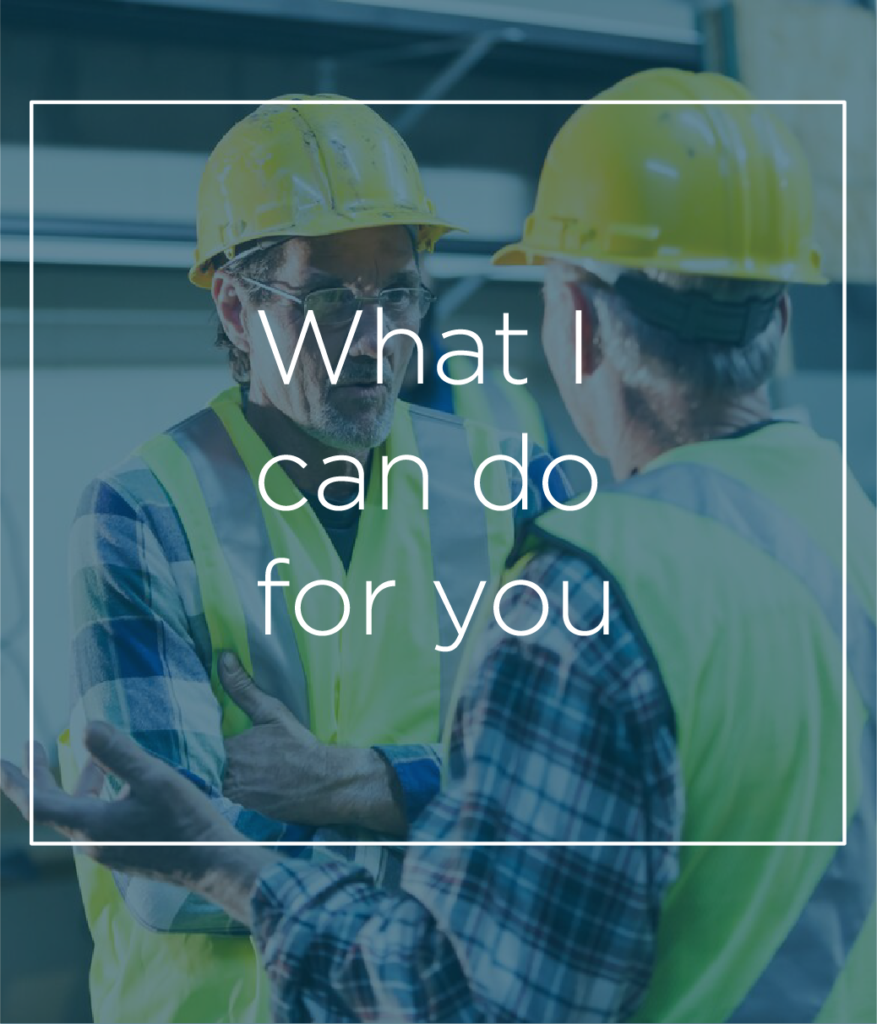 Building Contractors photo – My Edge, What I Value | Contracts Specialist