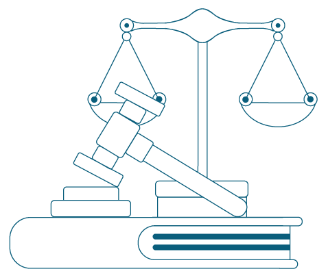 Scale and gavel used in adjudication for the Security of Payment Act NSW | Contracts Specialist