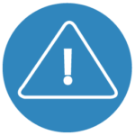 Warning sign icon to be used in Sydney construction site   Contracts Specialist