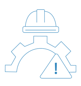 Construction warning sign icon to prevent a building contract dispute in Sydney | Contracts Specialist
