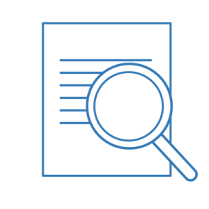 A Document & Magnifying Glass Icon - Contract Review Sydney | Contracts Specialist