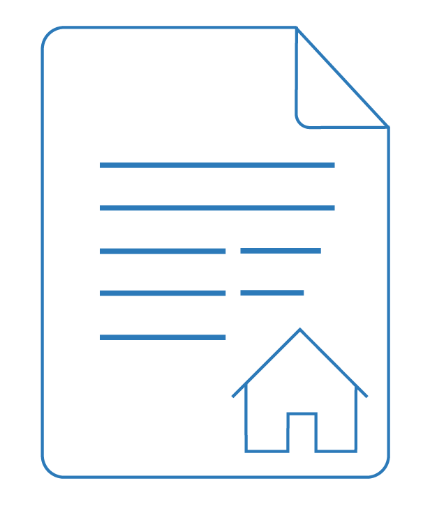 Residential building contract icon – Due Diligence | Contracts Specialist