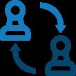Company structure comparison icon   Contracts Specialist